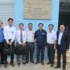 Tổng giám đốc Panasonic Châu Á Thái Bình Dương thăm dự án trạm không người trực tại công ty lưới điện cao thế TP.HCM do SGTel triển khai